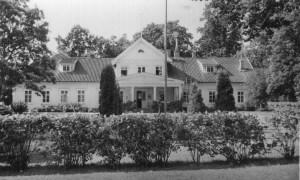 Brakilan kartanon päärakennus. Kuva L. Laisin arkisto