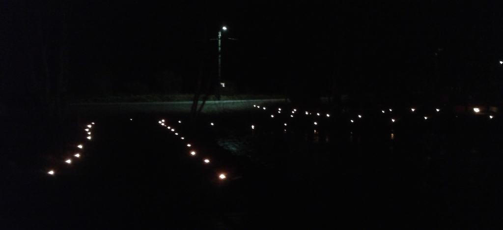Valoteos laiturilta kuvattuna. Kuva Mervi Hyppänen.