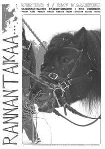 Rannantaikaa 1/2017 ilmestyy