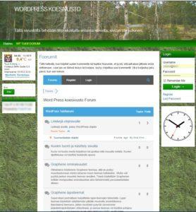 Koesivuston ylläpitäjille on tukifoorumi avattu.