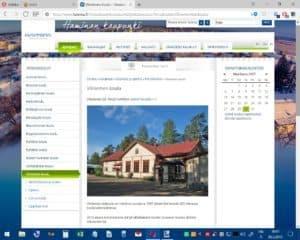 Haminan kaupungin nettisivut 30.3.2017: Vilniemen alakoulu on toiminut vuodesta 1897 alkaen Kartanotie 265 olevassa koulurakennuksessa. 2013 alusta toimintamme siirtyi väliaikaisesti Uuden-Summan koulun tiloihin Siitosentie 58.