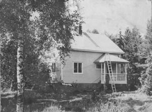 S. Kauton talo 1950luvulla. Kuav S- kaiton arkisto