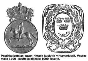 Suomen ensimmäinen postilinja
