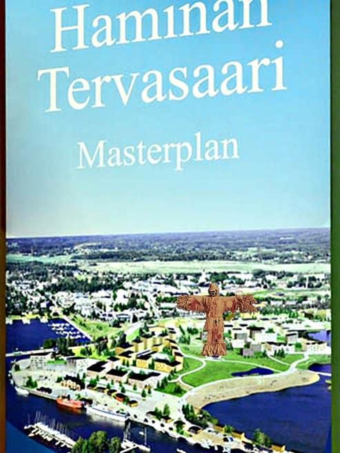 Hanke sopisi Tervesaaren suunnitelmaan. Pohjakuva kaupunkilehti Reimarin nettisivuilta.