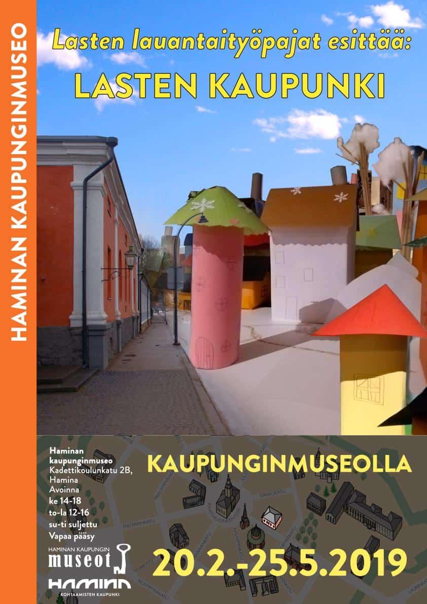 Lasten kaupunki Kaupunginmuseolla