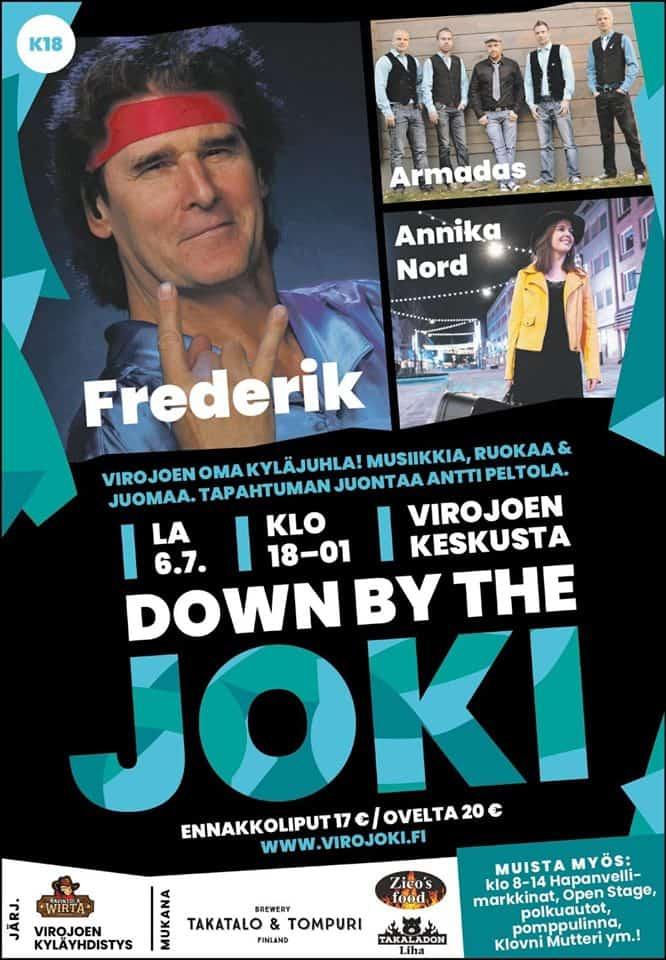 Down by the joki @ Virojoen keskusta