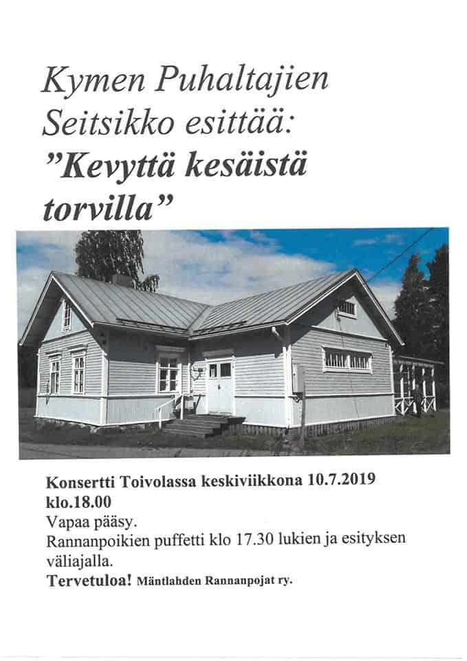 Torviseitsikko Toivolassa @ Seurantalo Toivola, Mäntlahti