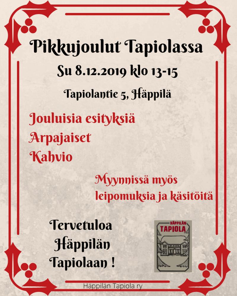 Pikkujoulut Tapiolassa @ Seurantalo Tapiola