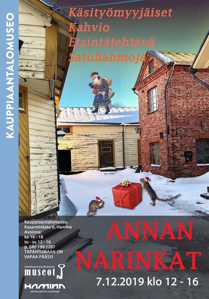 Annan Narinkat 7.12.2019