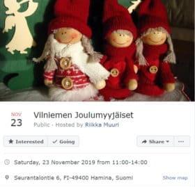 Vilniemen Joulumyyjäiset